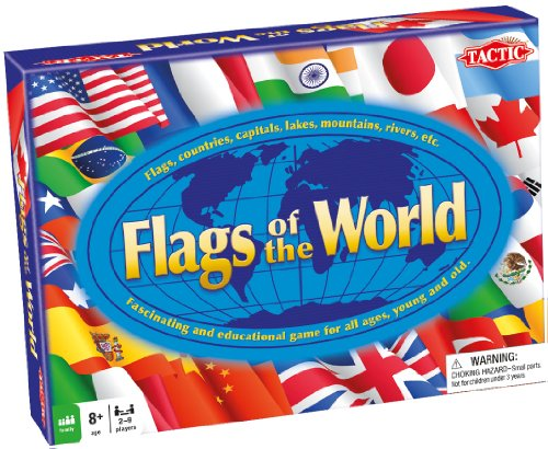 Tactic Games US Flags Of The (World Flag)