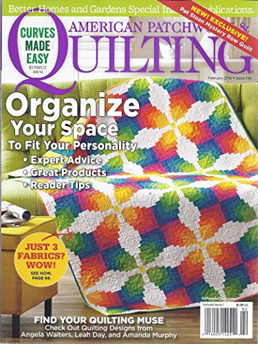 American Patchwork & Quilting Magazine (February 2016)