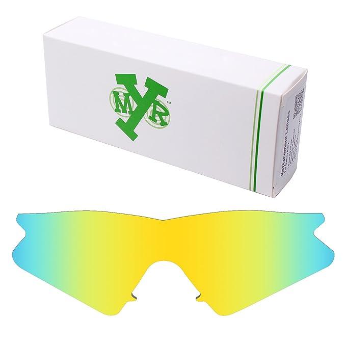 MRY polarizadas lentes de repuesto para Oakley M Frame Sweep - Gafas de sol 24K Gold: Amazon.es: Ropa y accesorios