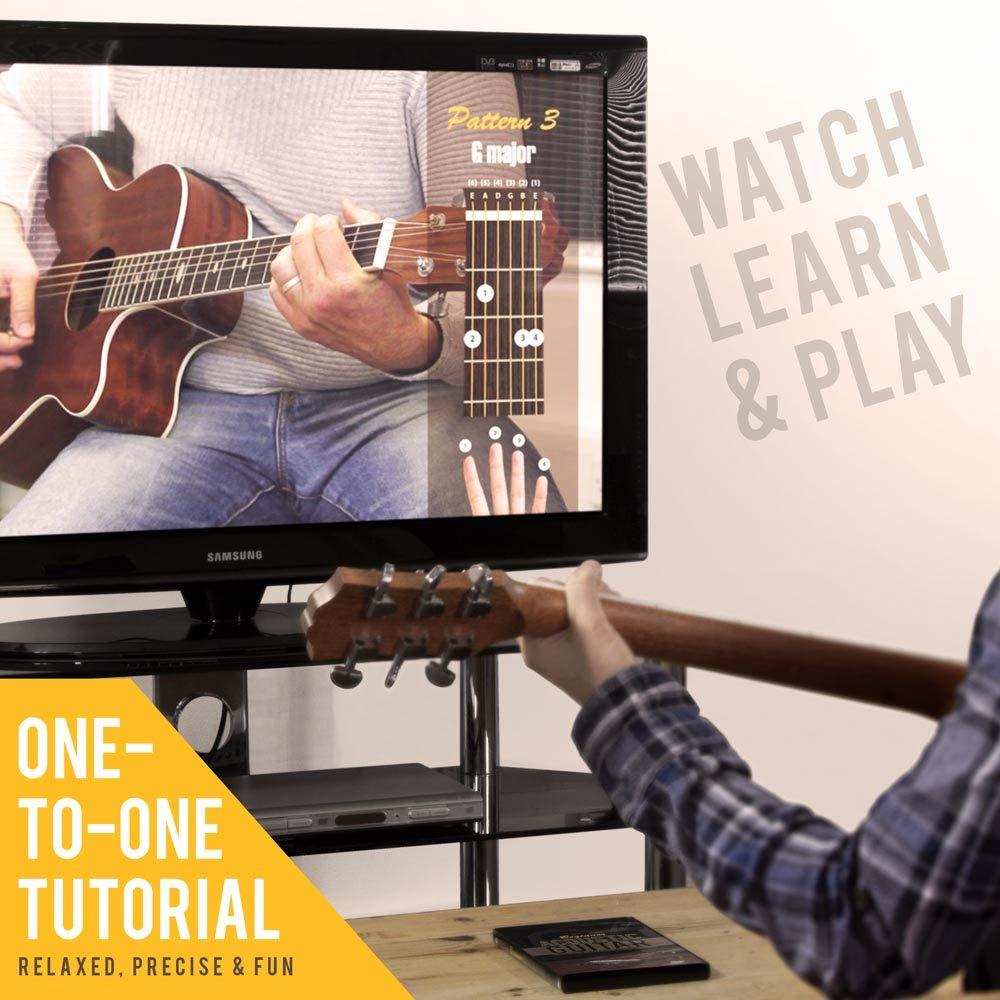 Lindo principiante guitarra acústica DVD con 12 lecciones de ...