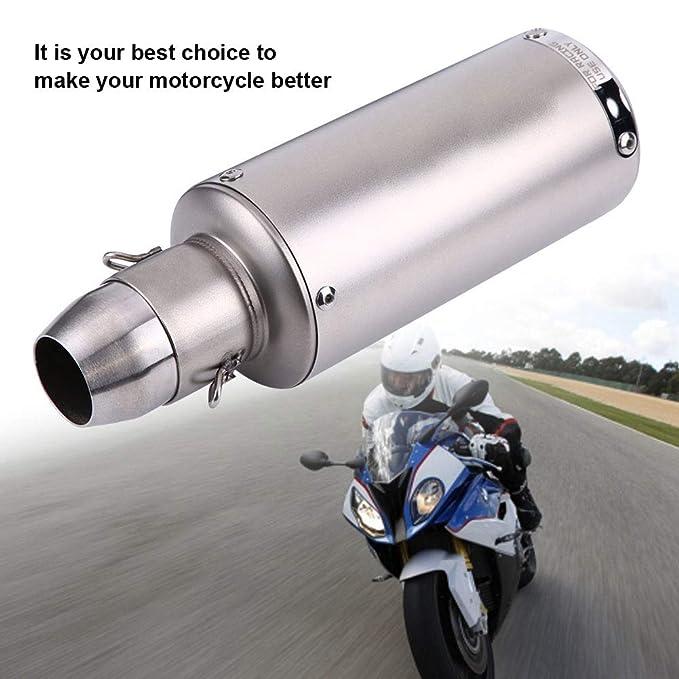 Tubo de escape de la motocicleta de escape KIMISS, tubo de ...