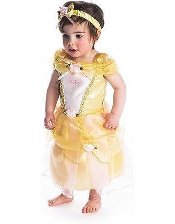 Disney Princesas Princesa Disfraz bebé, Color amarillo, 18-24 Meses (Travis Designs