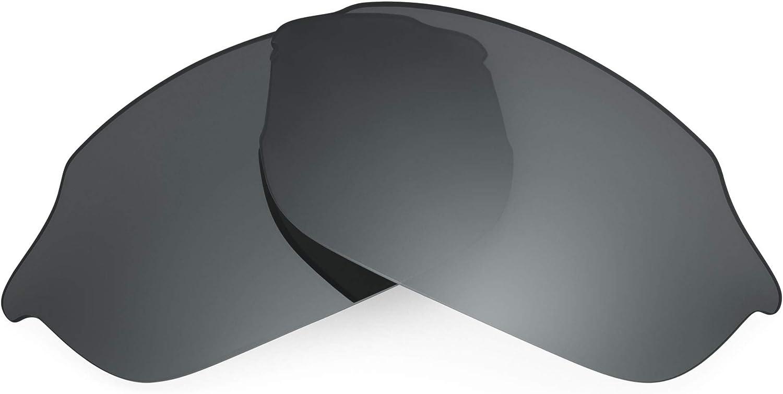 Revant Verres de Rechange pour Smith Parallel - Compatibles avec les Lunettes de Soleil Smith Parallel Chromé Noir Mirrorshield - Polarisés