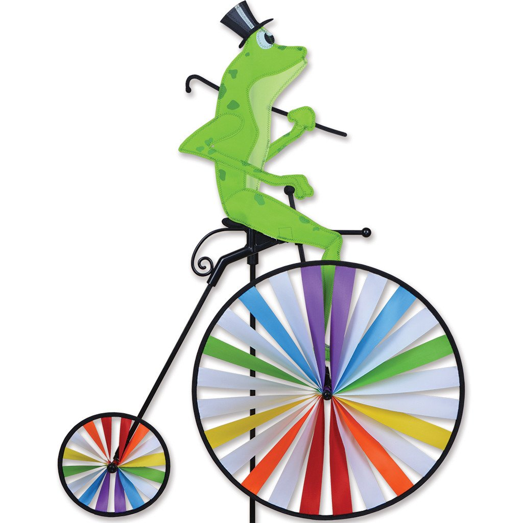 Premier Kites High Wheel Bike Spinner - Frog by Premier Kites (Image #1)