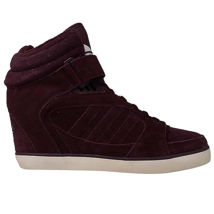 new style 19815 84fa9 Adidas Amberlight UP Scarpe Moda Sneakers Porpora Pelle Scamosciata per  Donna  Amazon.it  Scarpe e borse