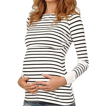 378815fa7237d Amazon.com: BOLUOYI Maternity Clothes for Work Women Mom Pregnant ...