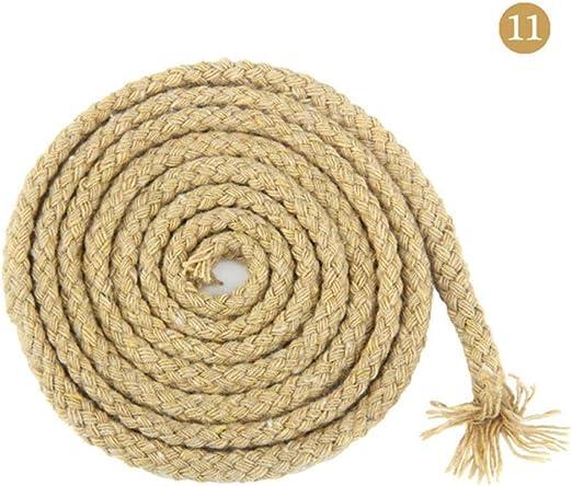 LLAAIT Accesorios de Bricolaje de 5 mm Cordón de algodón Redondo ...