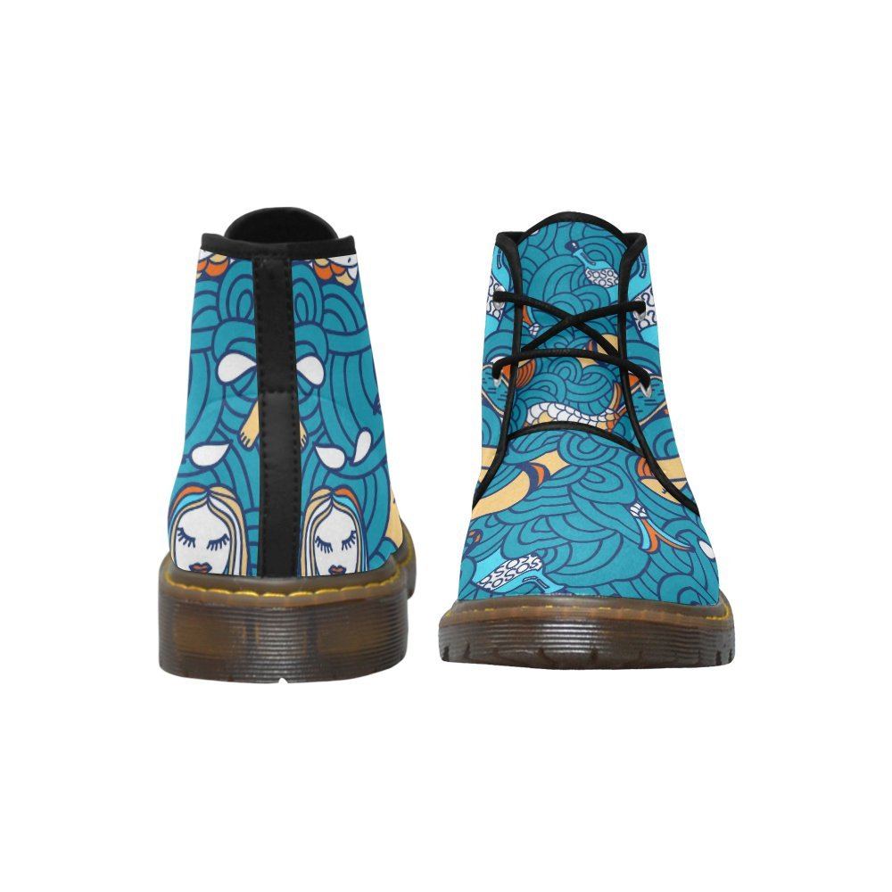 Artsadd Nubuck Unique Debora Custom Women's Nubuck Artsadd Chukka Boots Ankle Short Booties B0795Q2K2S 7 B(M) US|Multicolored18 c79211
