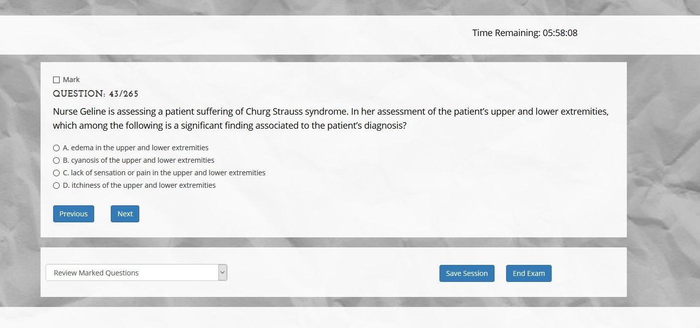Download NCLEX-RN National Council Licensure Examination-Registered Nurse (NCLEX-RN) Exam 4,000 Questions (Online Access Code Card) Windows, Mac, Smartphone PDF
