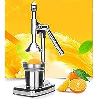 BEESCLOVER Manual Press Stainless Steel Juicer for Lemon JPomegranate Orange Juice Making