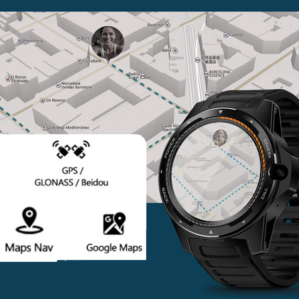 Amazon.com: Zeblaze Thor 5 Smartwatch,Dual Systems 4G ...