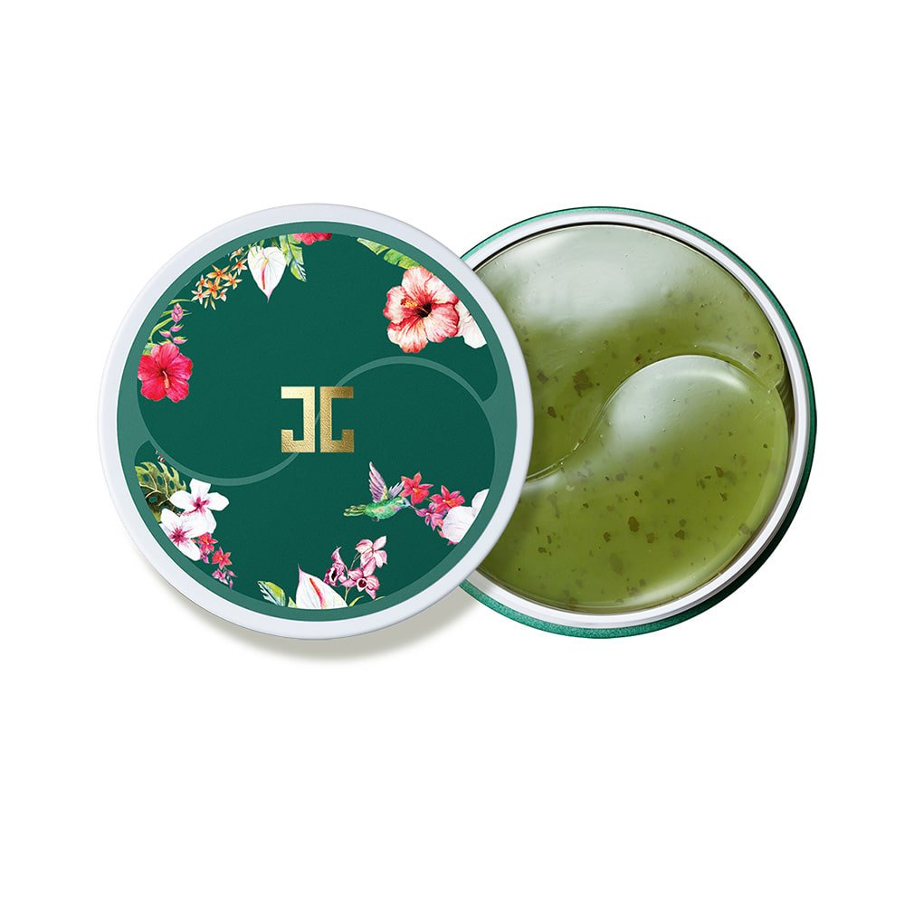 JAYJUN Green Tea Eye Gel Patch, Dark Circle, Puffy Eye, Under Eye Patch, 1.4g, 60 in Jar: Beauty