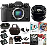 Fujifilm X-T2 Camera (Body) with XF 35mm f/1.4 R Prime Lens and Software Bundle