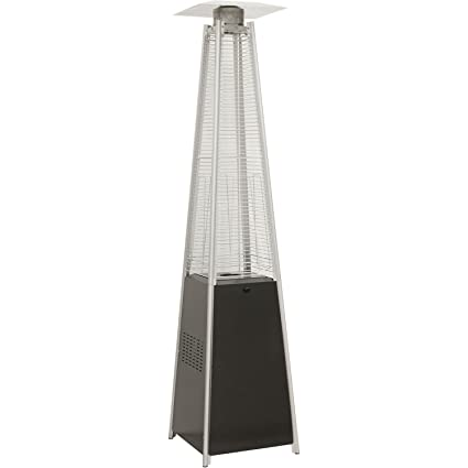 Amazon.com : Hanover 42000 BTU Pyramid Propane Patio Heater, 7 ...