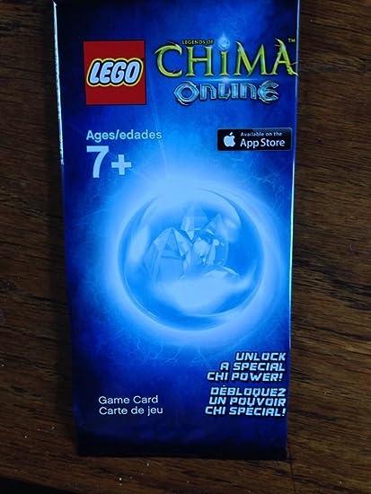Amazon.com: LEGO Chima Online tarjeta de juego. Desbloquear ...