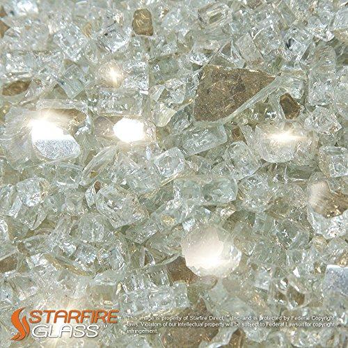 Starfire 20 Pound Glass Fireplace Reflective