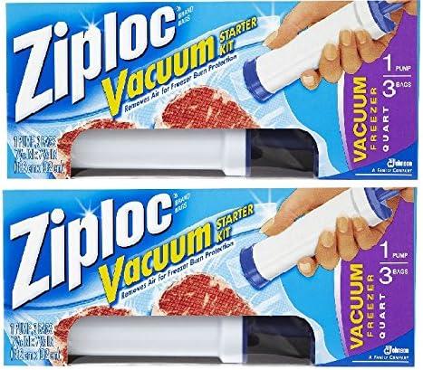 Compra Ziploc congelador Bomba de vacío Starter Kit (1/3bags) en ...