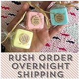 RUSH SHIPPING: Mini Soap Favors, Baby Shower favors, Bridal Shower favors, Wedding favors, RUSH favors, Rush wedding favors, rush baby shower favors, rush bridal shower favors