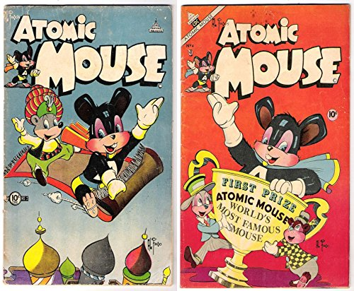 Atomic Mouse. Issues 1 and 2. World