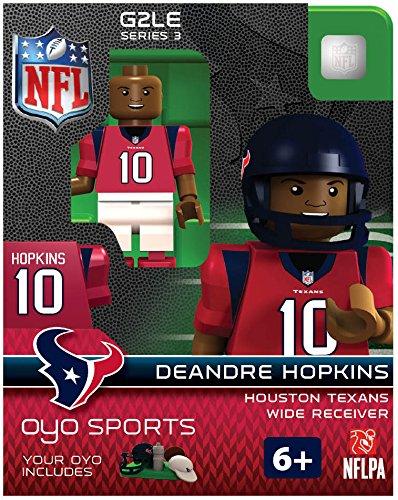NFL Houston Texans DeAndre Hopkins G2 OYO Minifigure