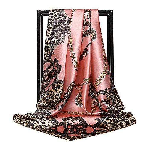 Print Silk Wrap - Women Large 35