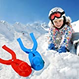 CHAOMIC Snowball Tool Snowball Maker Clips Duck Shaped Snow Toys for Kids Outdoor Winter Play Snow Toys Snowball Fight Beach