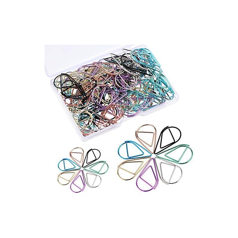 Frienda 105 Pieces Multicolor Water Drop