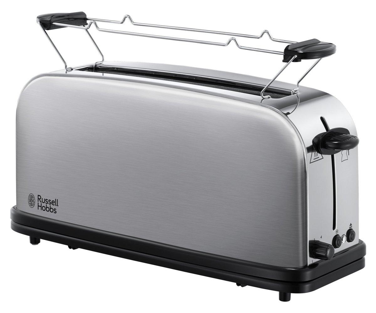 Russell Hobbs 21396-56 Toaster Grille-Pain Fente Large Spécial Baguette Adventure Inox 6 Niveaux Réglables, Décongèle product image