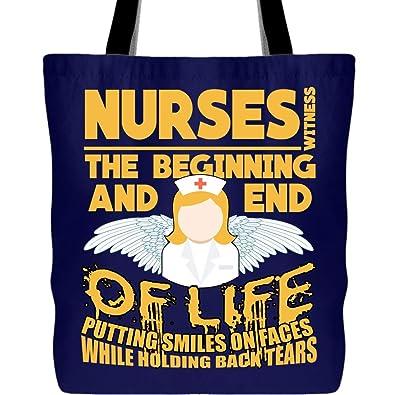 Amazon.com: Regalo para enfermeras bolsas de lona ...