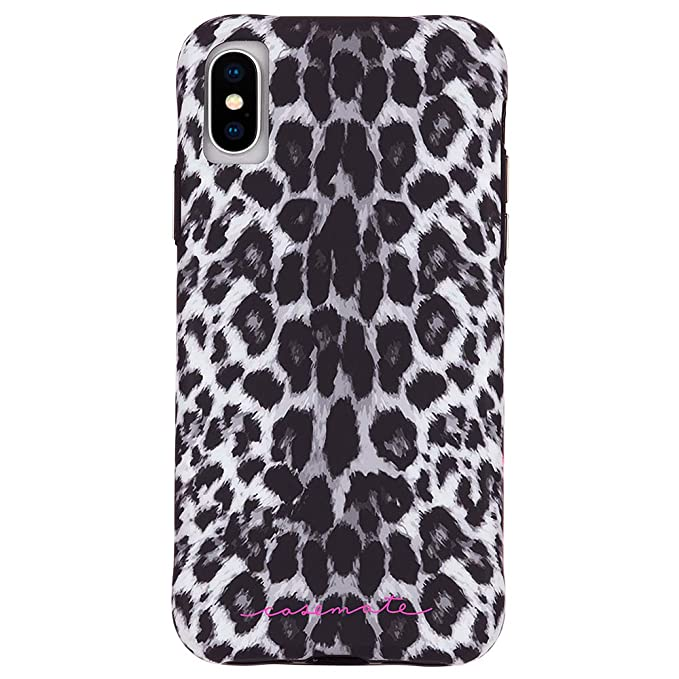 leopard iphone xs case
