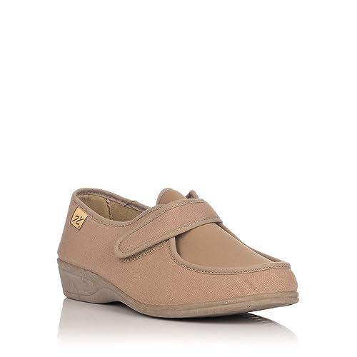 DOCTOR CUTILLAS 706 Zapatilla Velcro Confort Mujer: Amazon.es: Zapatos y complementos