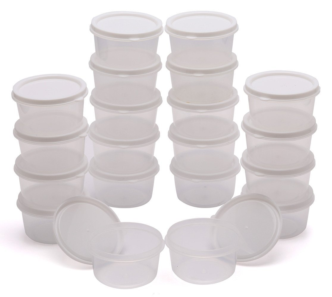 Nice Amazon.com   Greenco Mini Food Storage Containers, Condiment, And Sauce  Containers, Baby Food Storage And Lunch Boxes, Leak Resistant, 2.3 Oz Each,  ...