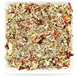 Tealyra - Sage Apple Blossom - Aniseed - Linden - Herbal Fruity Wellness Loose Leaf Tea - Relaxing - Caffeine Free - 112g (4-ounce)
