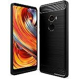 OFU® TPU silicone Case opaca per Xiaomi Mi Mix 2 Custodia e cover-nero