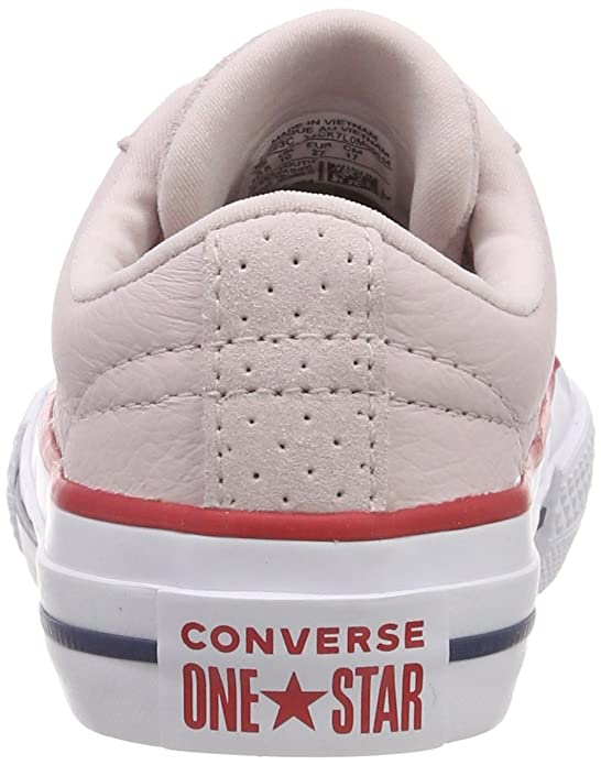 c013cd91654f Converse Unisex Kids  One Star Ox Barely Rose Gym Red White Trainers   Amazon.co.uk  Shoes   Bags