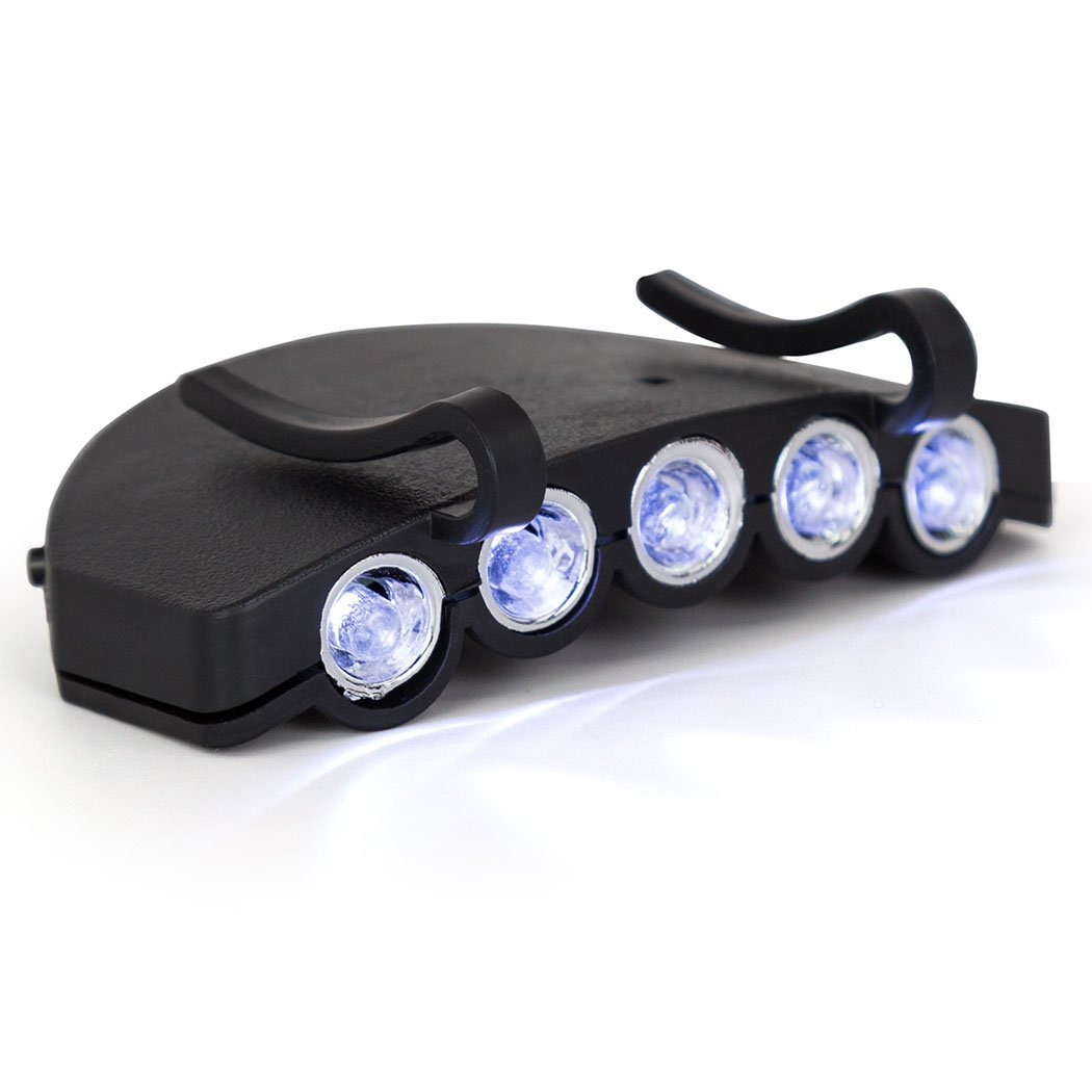 Amazon.com: Gone For a Run LightGUIDE LED Hat Light | Running Lights ...