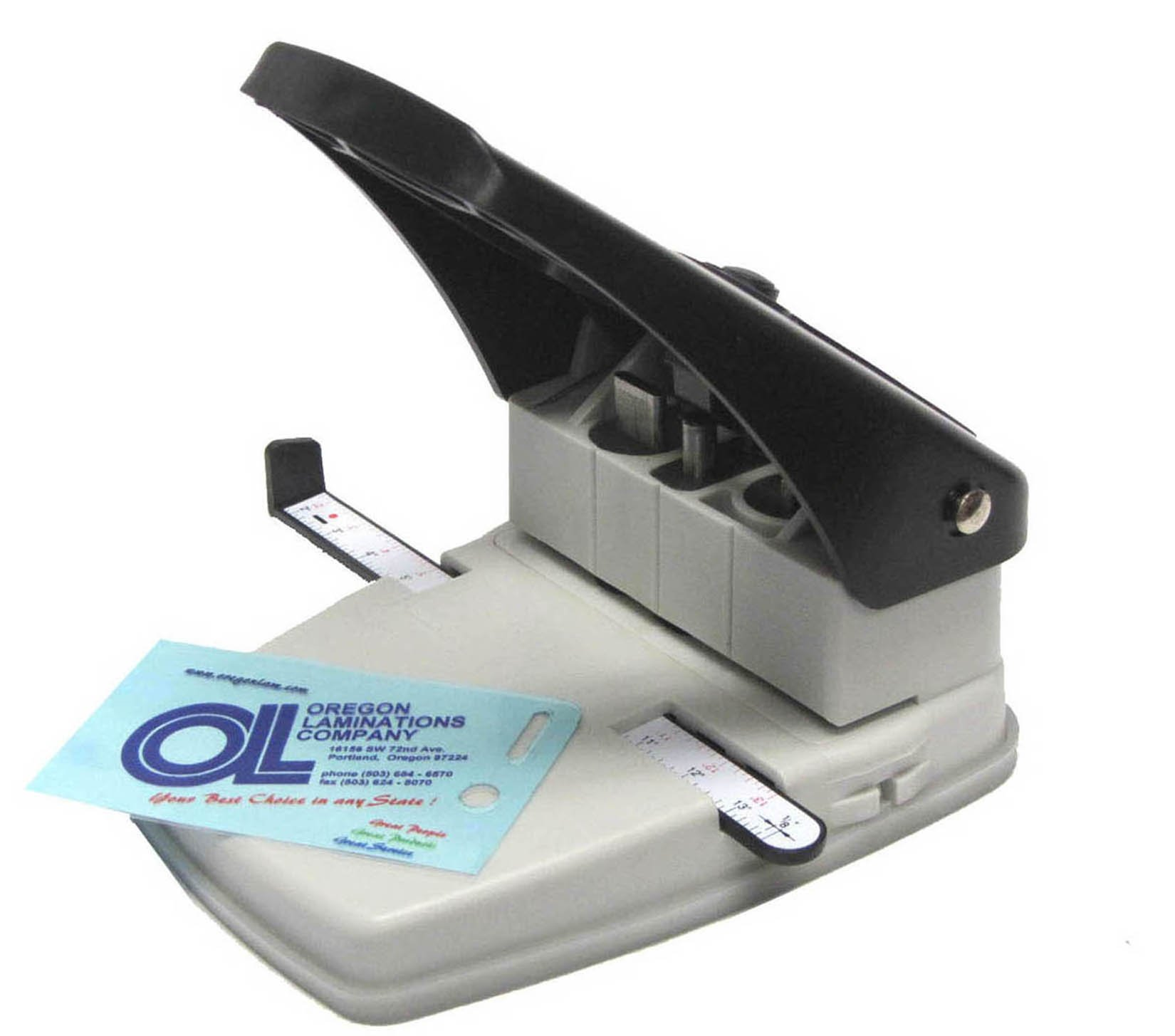 3-in-1 ID Badge Slot Punch, Corner Round Cutter & Hole Punch Tool