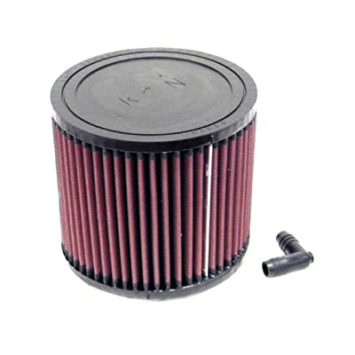 K&N Universal Clamp-On Air Filter: High Performance, Premium, Washable, Replacement Engine Filter: Flange Diameter: 2.5625 In, Filter Height: 5 In, Flange Length: 0.75 In, Shape: Round, RA-0650: Automotive