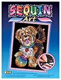 Sequin Art Blue, Puppy, Sparkling Arts and Crafts Picture Kit, Creative Crafts