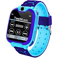 Kids Smart Watch Waterproof, FOONEE Touch Screen Mobile Smart Watches, LBS Tracker Phone Watch for Girls Boys, SOS Call Anti-Lost, Two-Way Call, Digital Game, Camera
