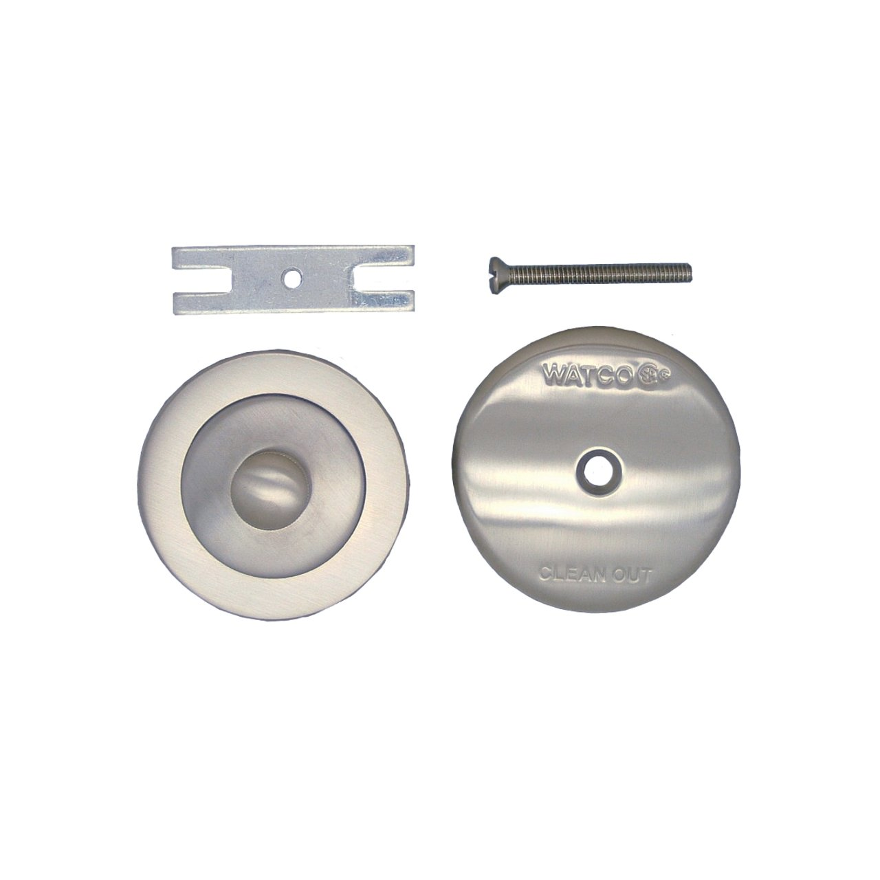 Watco Manufacturing 48400-CP NuFit Lift and Turn Trim Kit, Chrome Plated