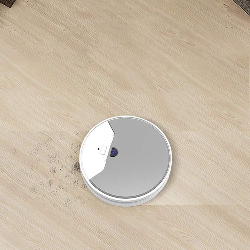 Ricarica USB, Spazzatura Tre In Uno, Aspirazione, Lavaggio, Aspirapolvere Robot (White) White