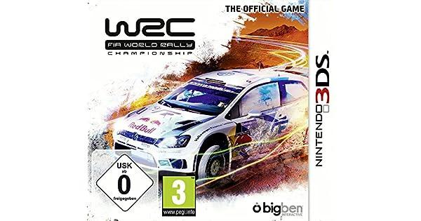 Bigben Interactive WRC FIA World Rally Nintendo 3DS Alemán, Inglés, Español, Francés, Italiano vídeo - Juego (Nintendo 3DS, Racing, E (para todos), Descarga): Amazon.es: Videojuegos