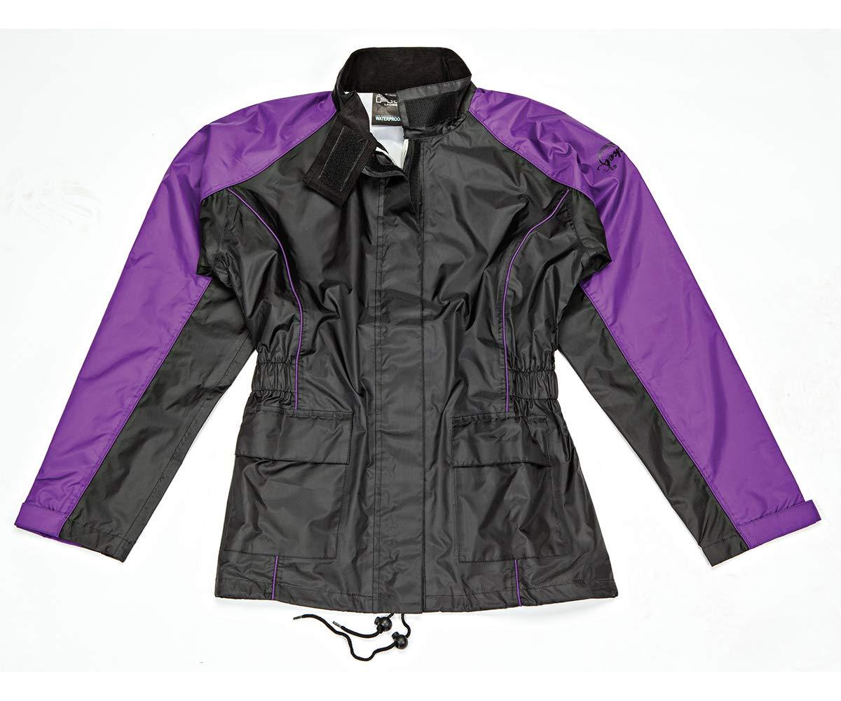 Joe Rocket 1012-2802 RS-2 Women's Rain Suit (Black/Purple, Small) by Joe Rocket