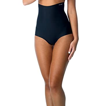 feef6254bf66d Cover Girl Seamless High Waist Tummy Control Panties for Women Soft    Breathable Firm Control Slimming Bikini Briefs at Amazon Women s Clothing  store