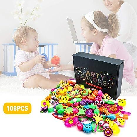 Wood.L - 108 artículos de fiesta para niños, regalo de ...