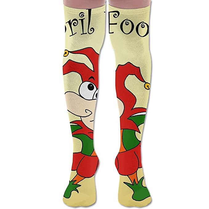 online store best place cozy fresh Amazon.com: Unisex Football Socks April Fools Day Funny ...