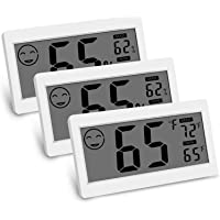 SODIAL Digital Thermometer Indoor Hygrometer Room Temperature Monitor Humidity Gauge With Big Screen Stand Wall Hanging…