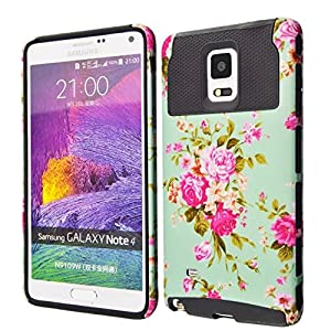 Note 4 Case, Galaxy Note 4 Case Kmall Shockproof Heavy Duty Protection Hybrid Full Body Rugged Case Rubber Dual Layer Holster Note 4 Cover for Samsung Galaxy Note 4 N9100