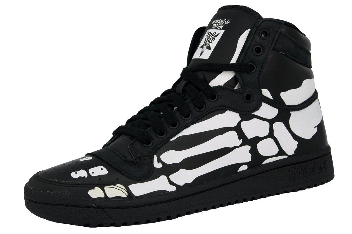 sale retailer 63a95 5561c Adidas TOP TEN HI Black White Skeleton Men Sneakers Shoes  Amazon.co.uk   Sports   Outdoors